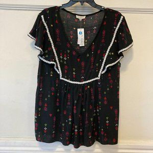 NWT C.O.C Clothing Obsessed Company 3X NEW Blouse